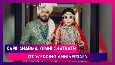 Kapil Sharma & Ginni Chatrath 1st Wedding Anniversary: Their Journey Through Pics